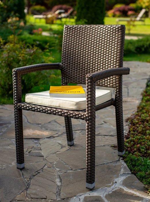 Кресло садовое Porto цвета мокко