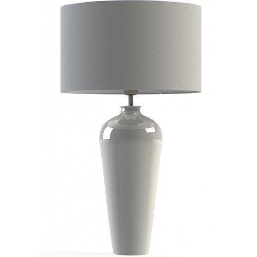Настольная лампа Ampelo белая