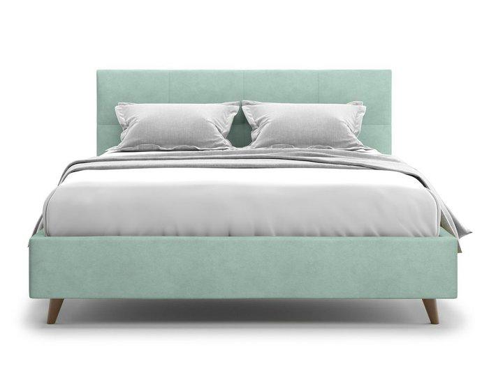 Кровать Garda 140х200 мятного цвета