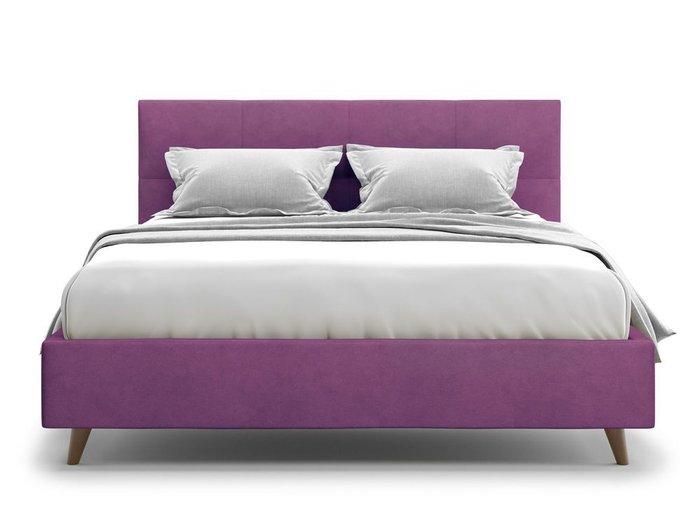 Кровать Garda 140х200 фиолетового цвета