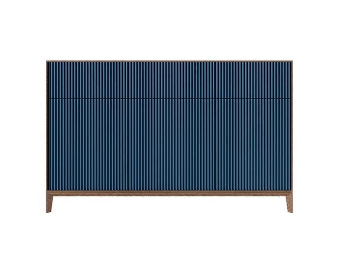 Комод The One Wave с фасадом синего цвета