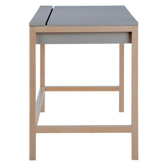 Стол письменный Northgate Desk Mel Gray серого цвета