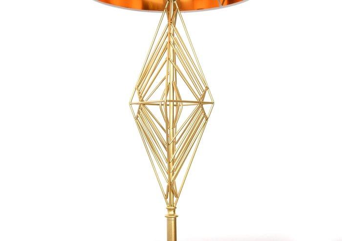 Торшер Salvari бело-золотого цвета