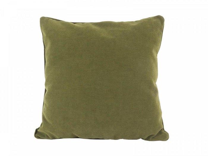 Подушка Uglich зеленого цвета