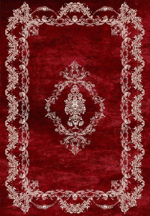 Ковер бордового цвета 80x150