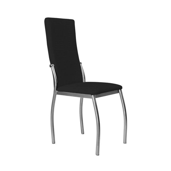 Кухонный стул Пекин №8 Серебро черного цвета