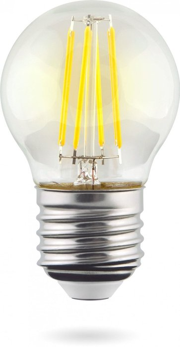 Лампа светодиодная Globe прозрачная