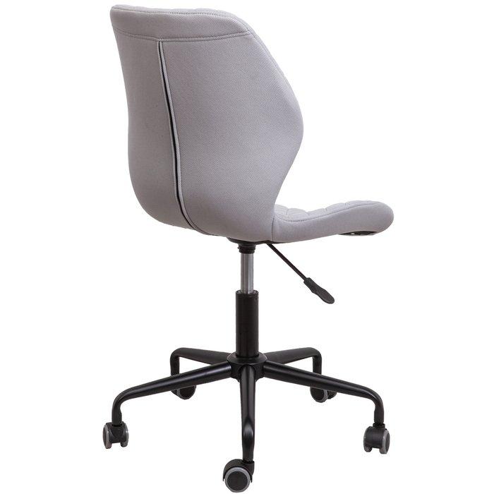 Кресло поворотное Delfin светло-серого цвета