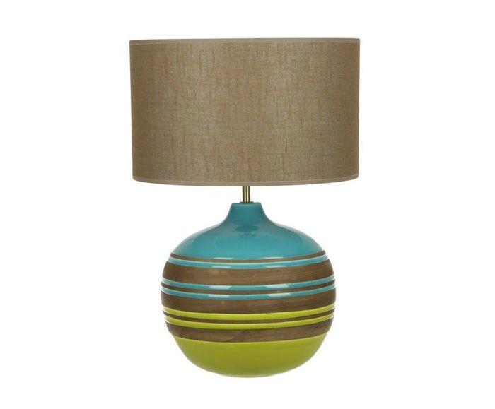 Настольная лампа Sporvil с бежевым абажуром