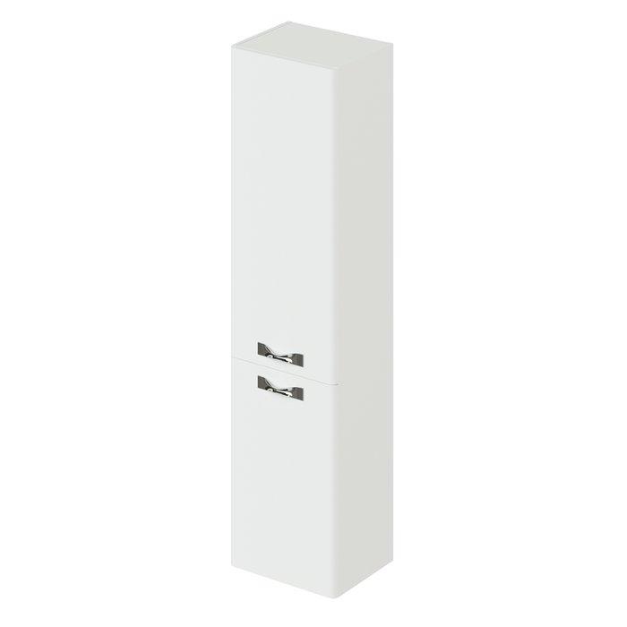 Пенал подвесной Анкона белого цвета