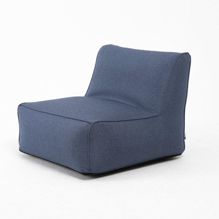 Модульное кресло Lite темно-синего цвета