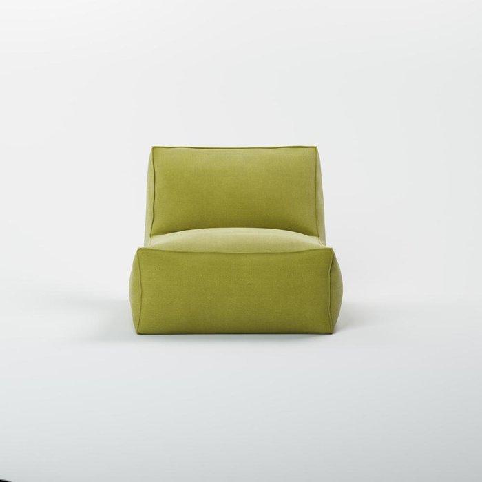 Кресло Quadro зеленого цвета