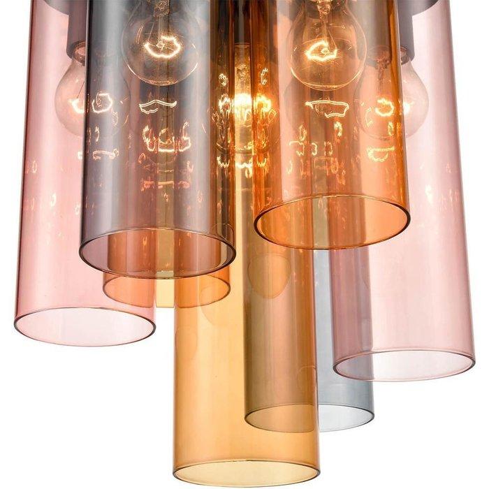 Подвесная люстра Miele с разноцветными плафонами