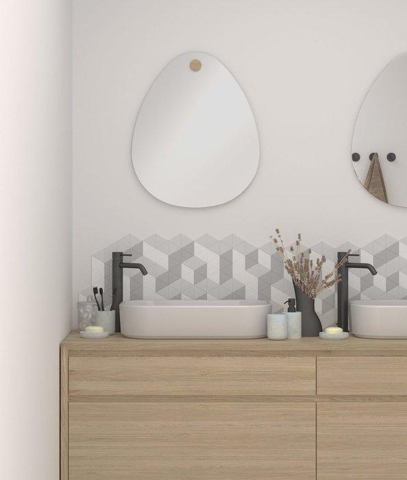 Настенное зеркало Miscusi 50х60 на деревянном креплении