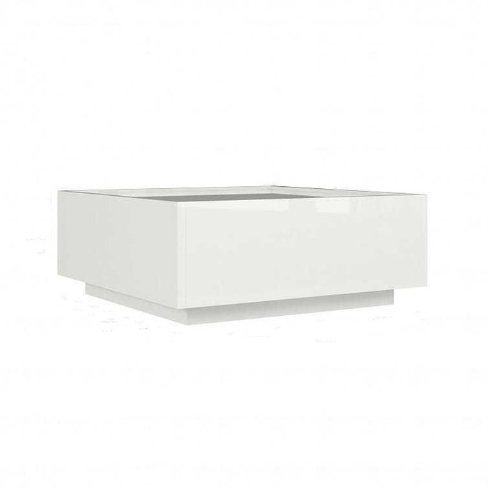 Журнальный столик Piano белого цвета