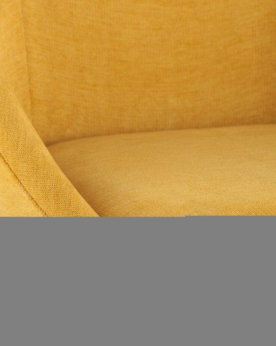 Стул Квини желтого цвета