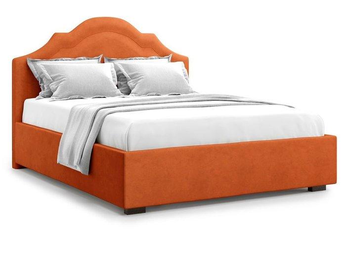 Кровать с подъемным механизмом Madzore 180х200 оранжевого цвета