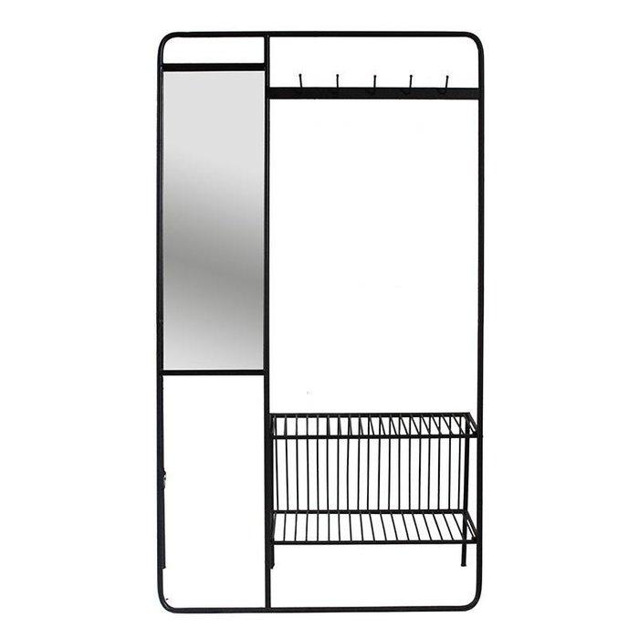 Вешалка напольная с зеркалом