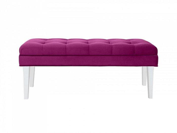 Банкетка Adel пурпурного цвета