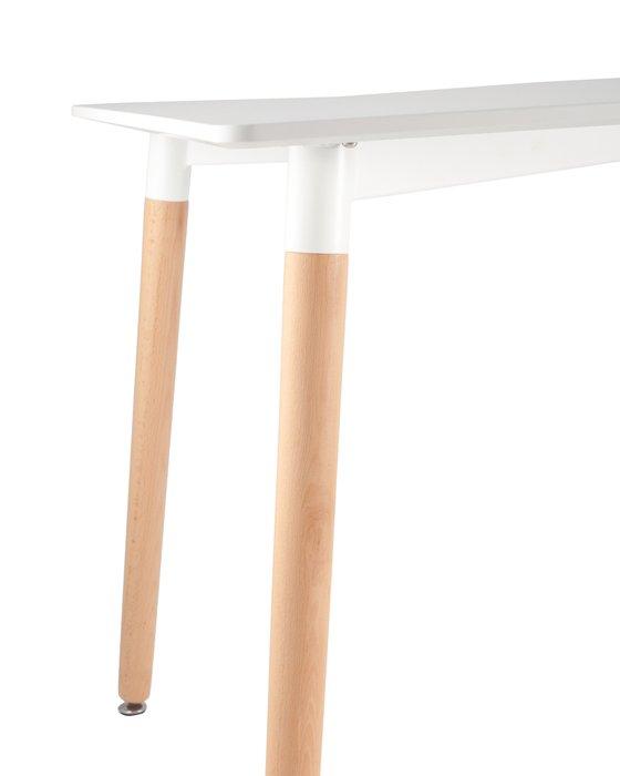 Обеденный стол Oslo Rectangle WT с белой столешницей