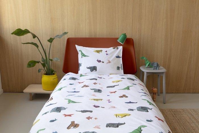 Комплект постельного белья Оригами зоопарк