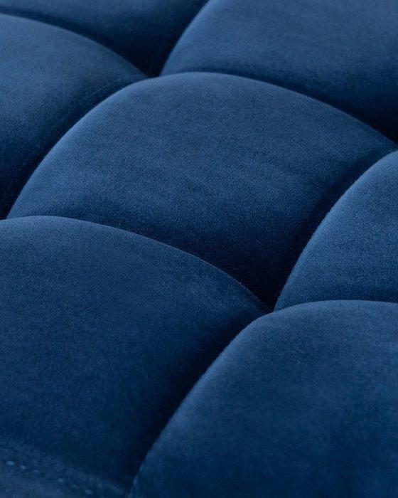 Стул барный Dominic синего цвета