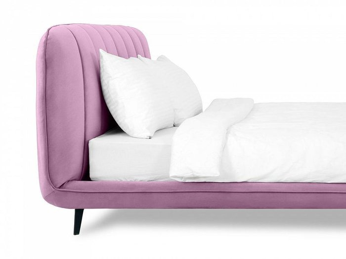 Кровать Amsterdam 160х200 лилового цвета