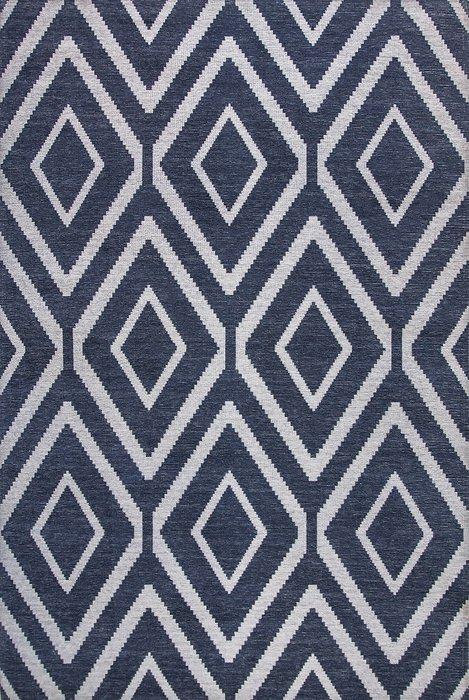Ковер Elza Ultima синего цвета 135х200