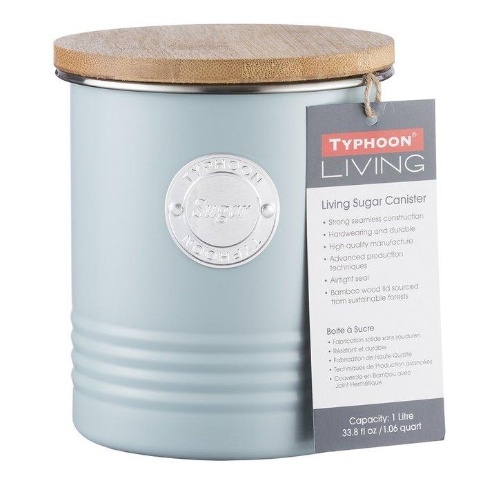 Емкость для хранения сахара Living голубого цвета