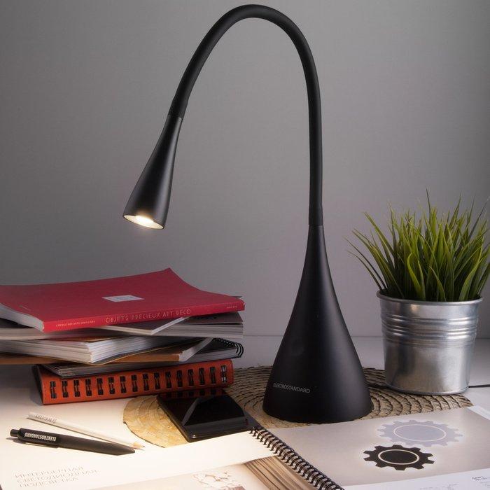 Настольная лампа Lola черного цвета