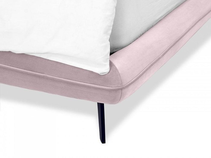 Кровать Amsterdam 160х200 розового цвета