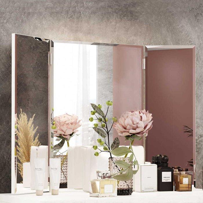Настенное зеркало-трельяж Шарли к туалетному столику
