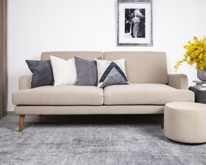 Декоративная подушка Citus grafit серого цвета