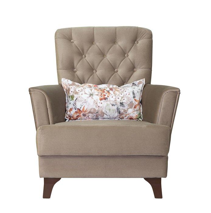 Кресло Ирис бежевого цвета
