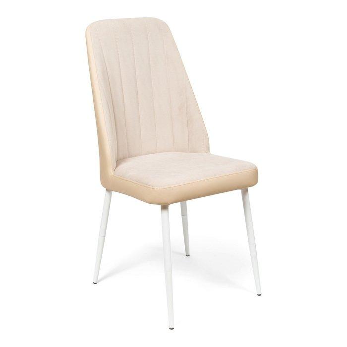 Кухонный стул Мокка Premium бежевого цвета