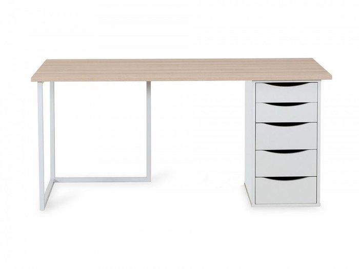 Письменный Стол Board из металла и и массива бука