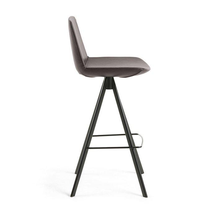 Барный стул Zelda коричневого цвета
