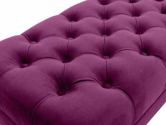 Банкетка Jazz пурпурного цвета