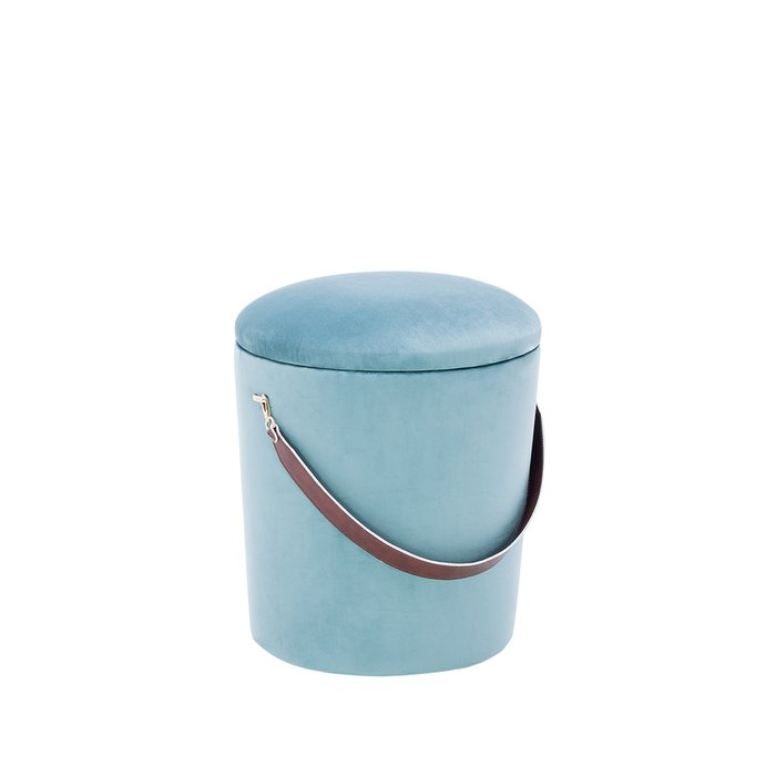 Пуф Бакет бирюзового цвета