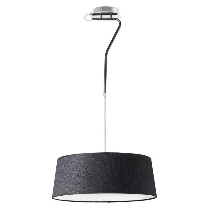 Подвесной светильник Faro Hotel с черным абажуром