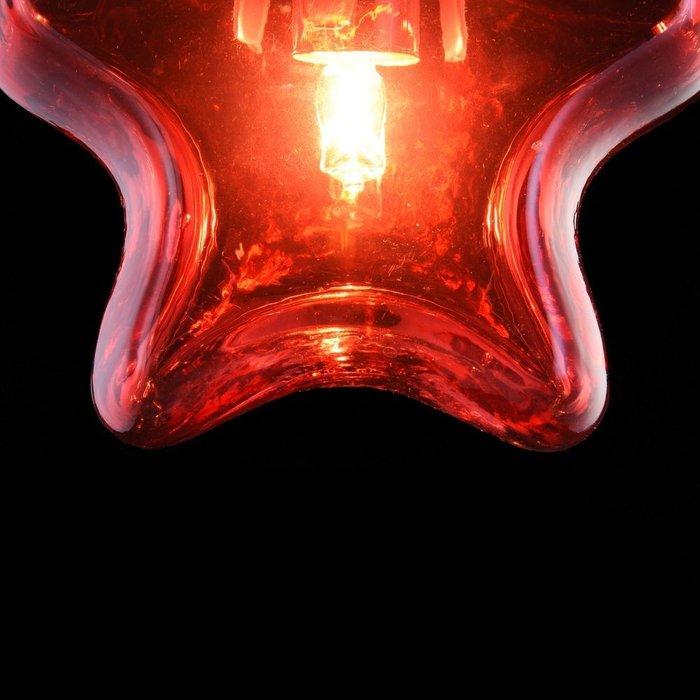Подвесной светильник Star с плафоном из стекла