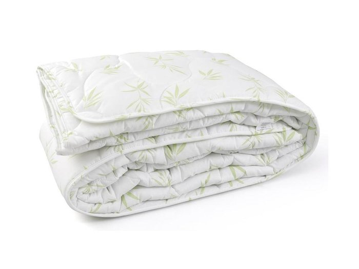 Одеяло стеганое Fashion Fantasy 172х205 белого цвета с рисунком