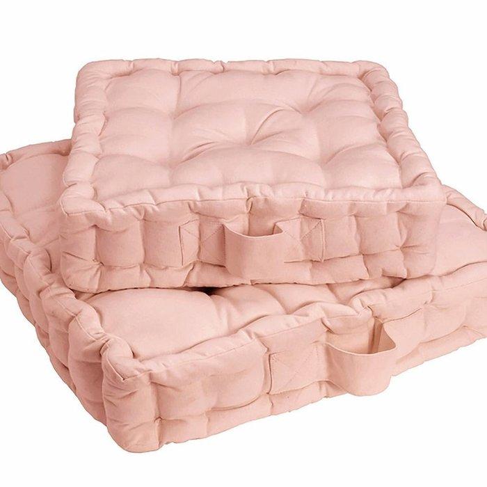 Напольная подушка Scenario розового цвета 50x50x10