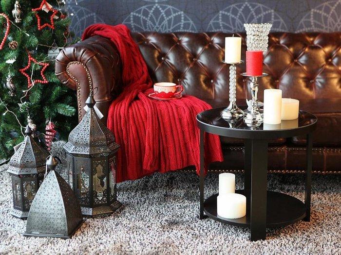 """Журнальный стол """"Jazz"""" с декорированной цветным стеклом столешницей"""