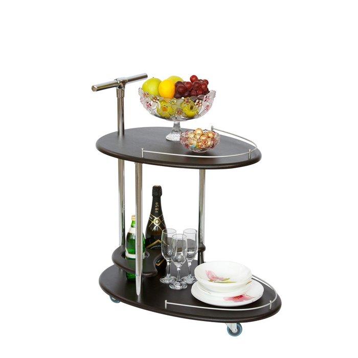 Стол сервировочный Брум цвета венге