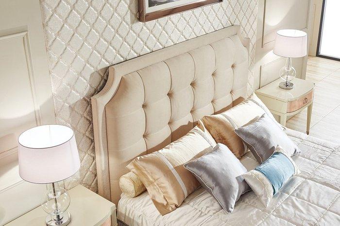 Кровать Modena бежевого цвета 180х200