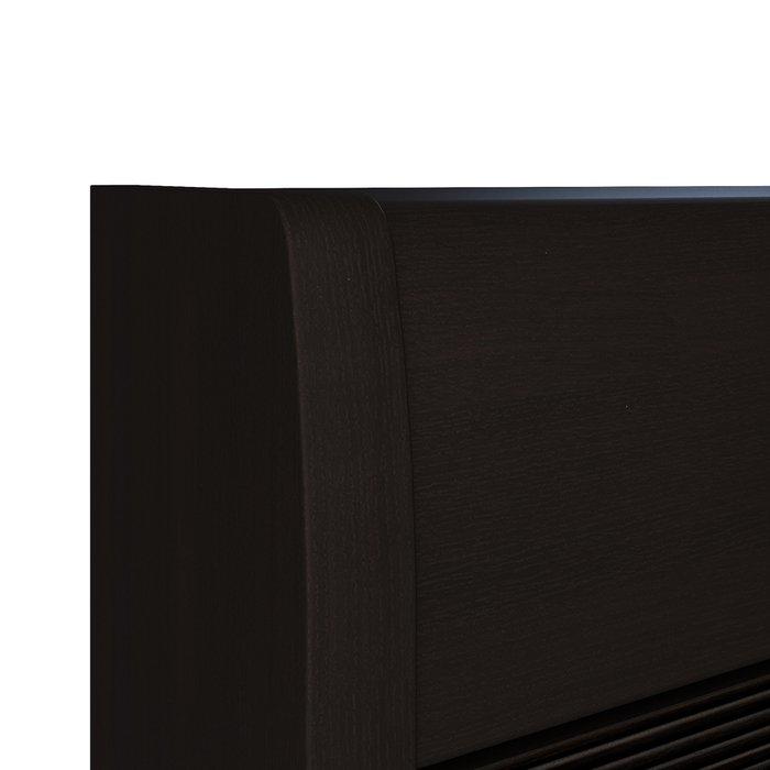 Угловой комод Илона черного цвета