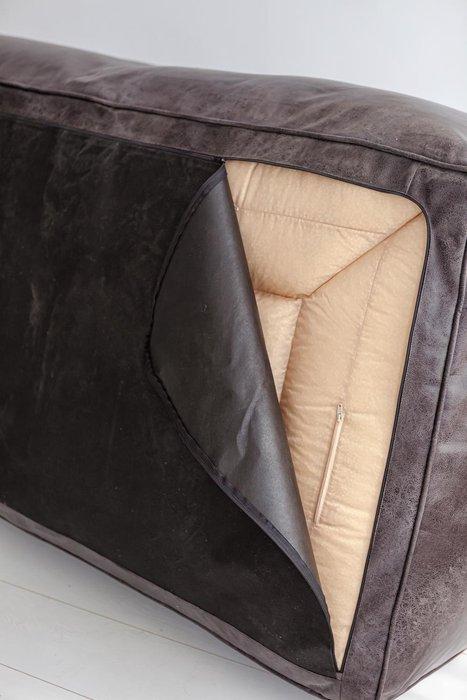 Диван Angle Design коричневого цвета