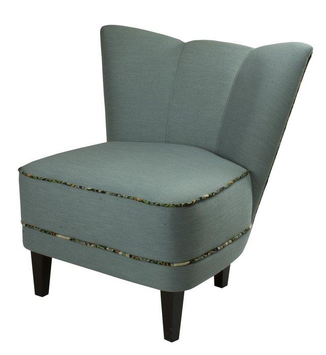 Кресло Viola голубого цвета