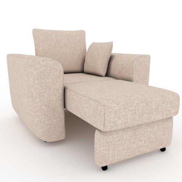 Кресло-кровать Stamford бежевого цвета